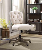 Linon OC055WHT01U Kelsey White Office Chair