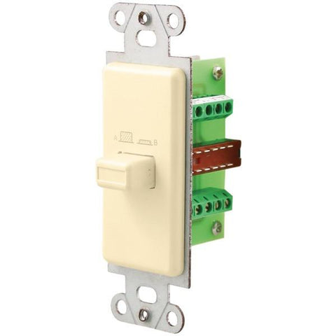 Pro-Wire IW-101-A Source/Speaker Switch (Almond) - Peazz.com