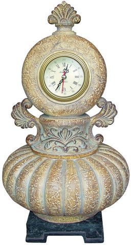 Ok Lighting OK-2650CL Ancient Romanesque Jewelry Box & Clock - Peazz.com