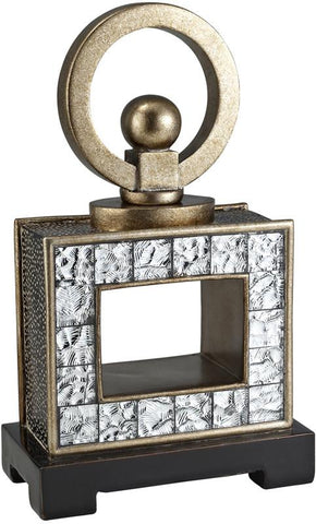 Ok Lighting OK-4239-JX2 Mirror Tiles Decorative Box - Peazz.com