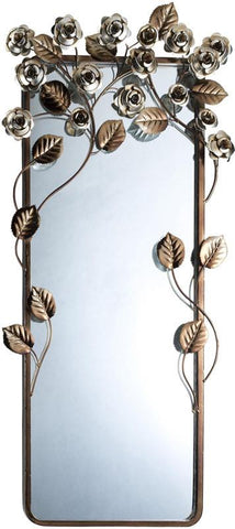 Ok Lighting OK-4275MR Allure Wall Plaque Mirror - Peazz.com