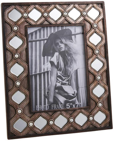 Ok Lighting OK-4278D Arabesque Photo Frame - Peazz.com