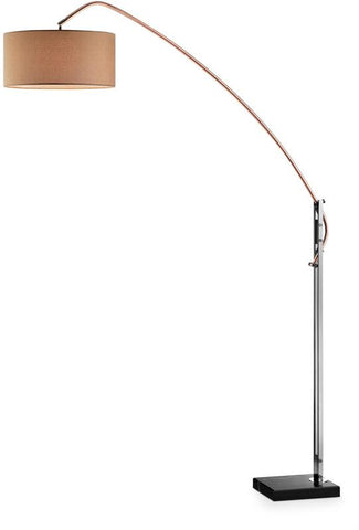 Ok Lighting OK-9746C Avant Copper Arch-Floor Lamp - Peazz.com