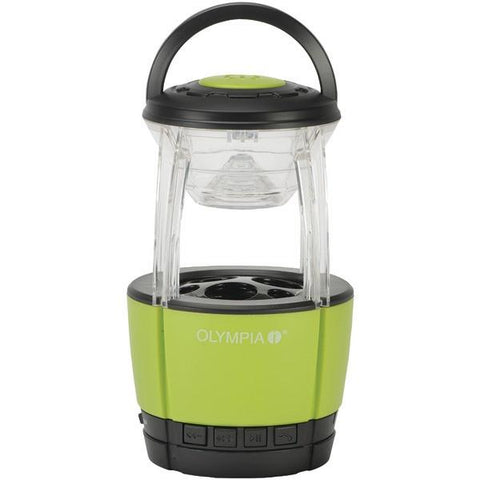 Olympia JAMLIGHT 72-Lumen JamLight LED Lantern with Bluetooth Speaker & Microphone - Peazz.com