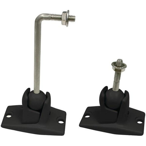 Omnimount 10.0 W/C Stainless Steel Universal 10lb Speaker Wall/Ceiling Mount Kit - Peazz.com