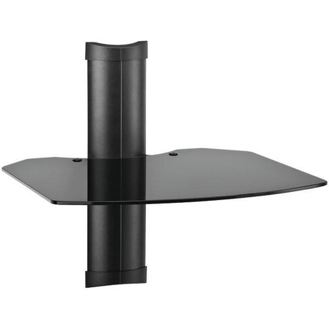 Omnimount TRIA 1 TRIA1B 1-Shelf Wall Furniture System (Black) - Peazz.com