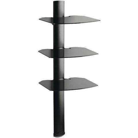 Omnimount TRIA TRIAB 3-Shelf Wall Furniture System - Peazz.com