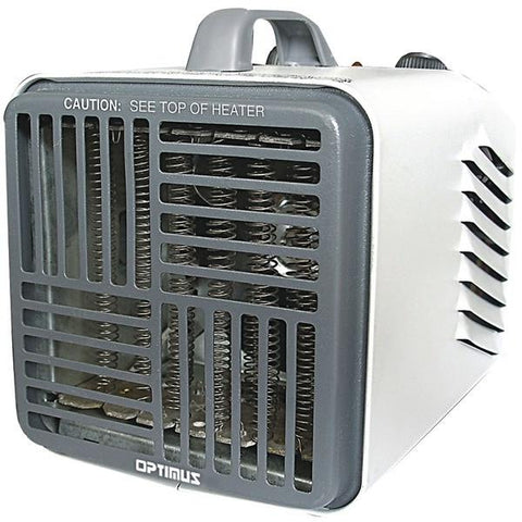 Optimus H-3001 Mini Compact Utility Heater with Thermostat - Peazz.com