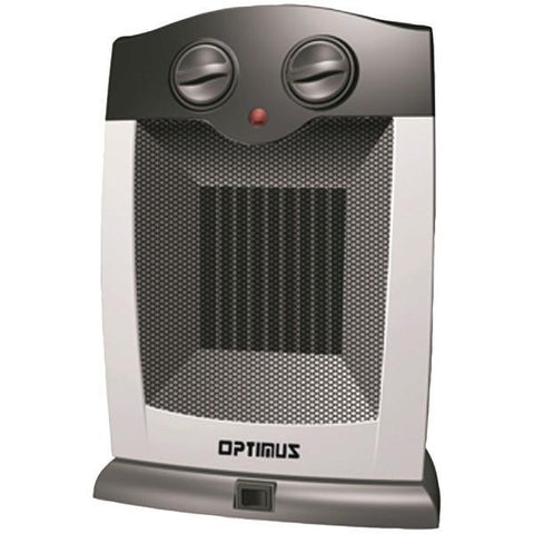 Optimus H-7248 Portable Oscillating Ceramic Heater with Thermostat - Peazz.com
