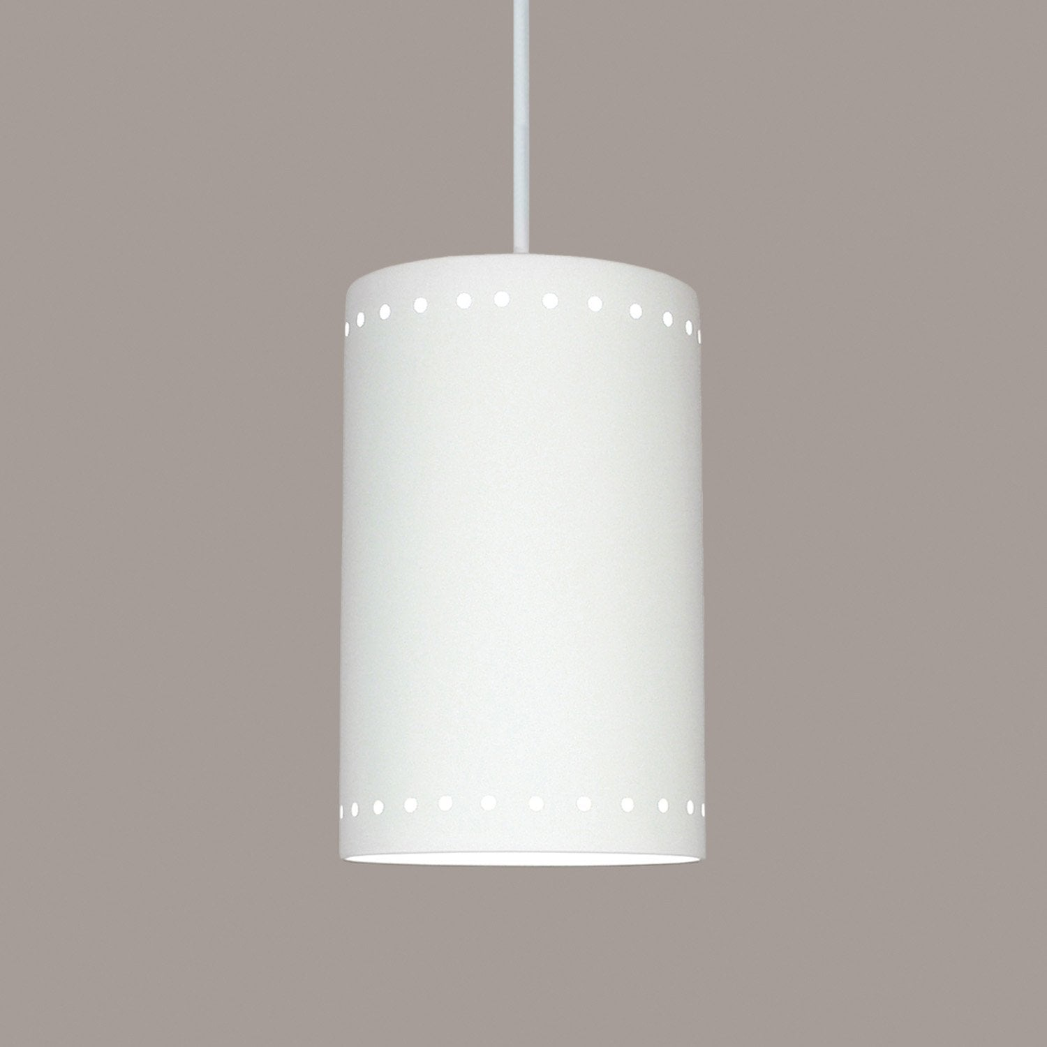A19 P206-CFL13-A17-BCC Islands of Light Collection Delos Jade Finish Pendant