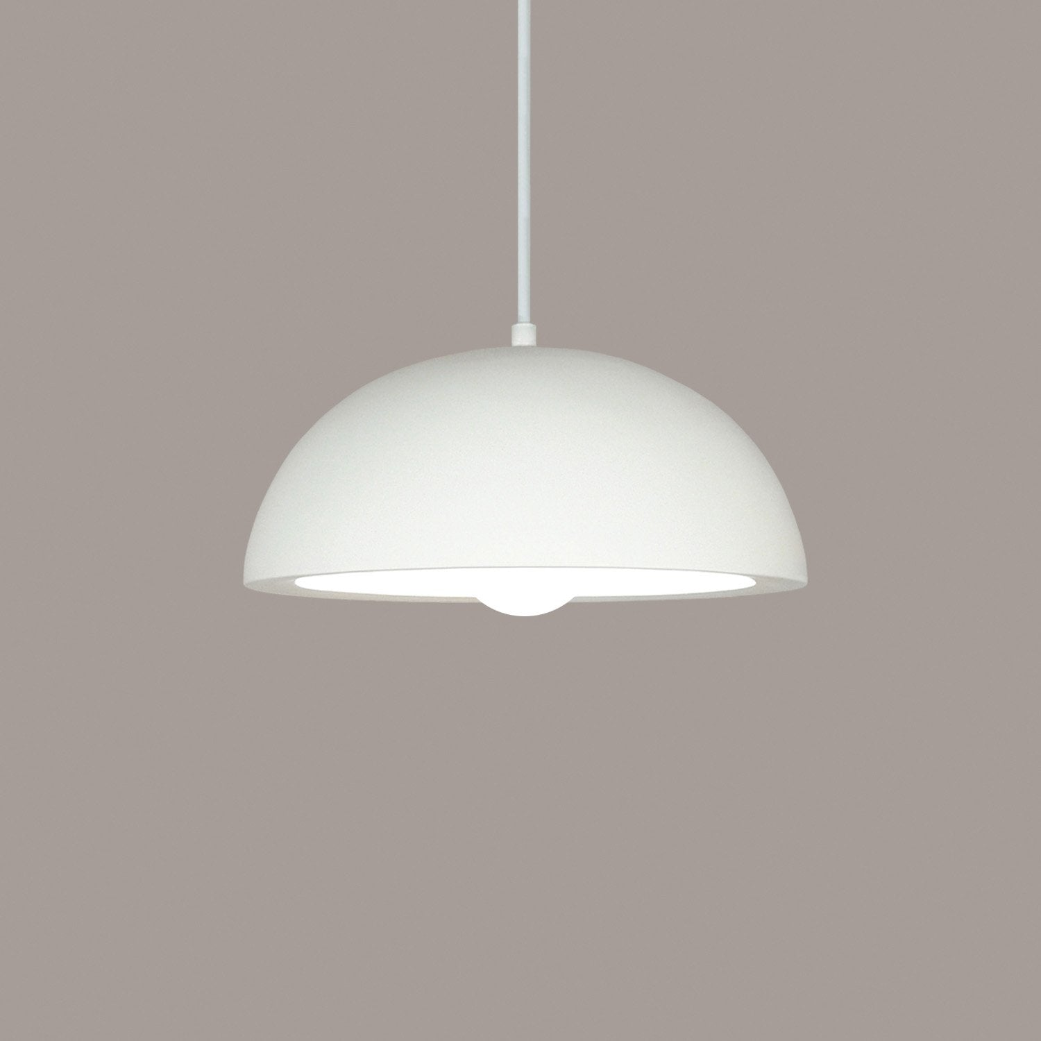A19 P301-GU24-PS-BCC Islands of Light Collection Thera Pistachio Finish Pendant