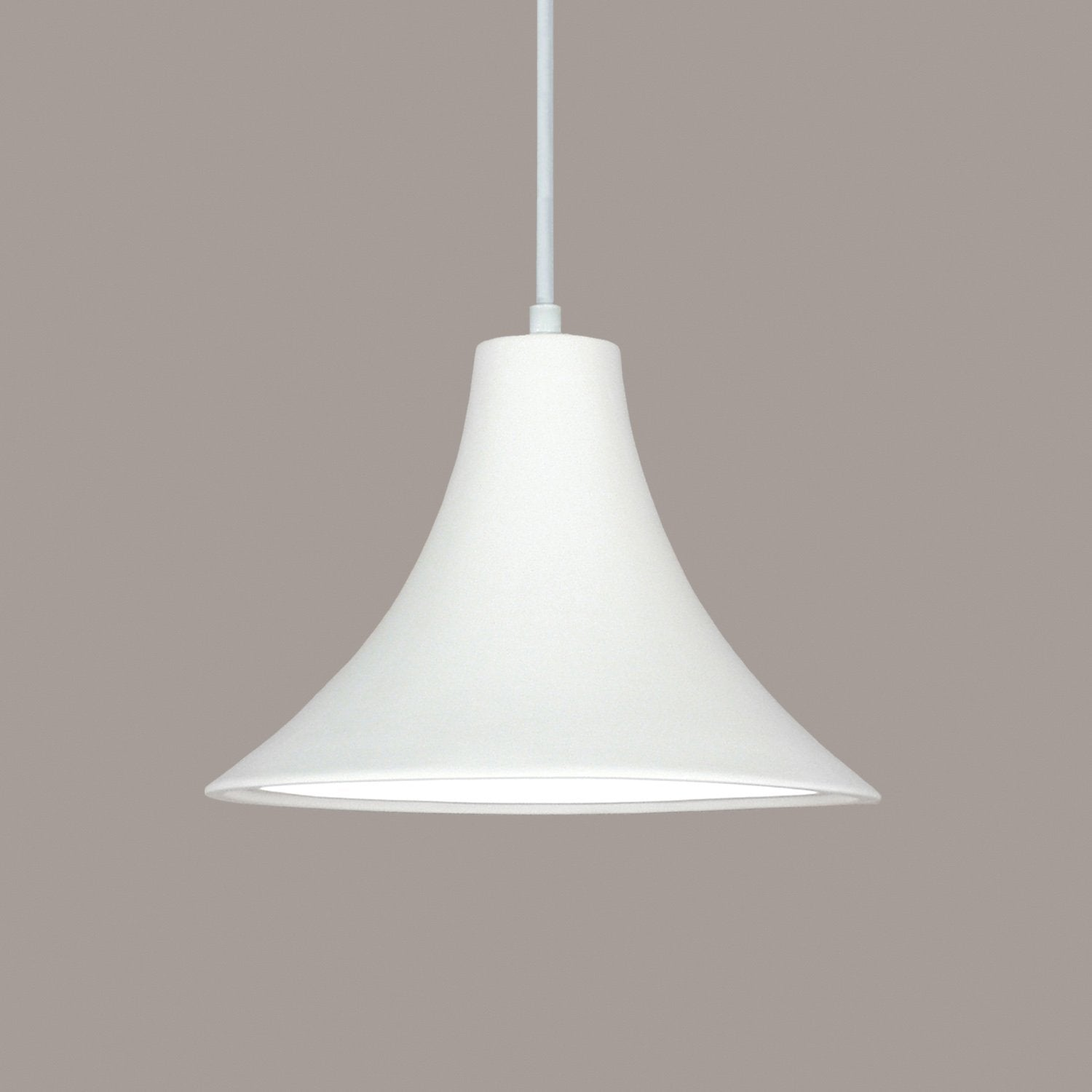 A19 P501-A21-BCC Islands of Light Collection Madera Dusty Teal Finish Pendant