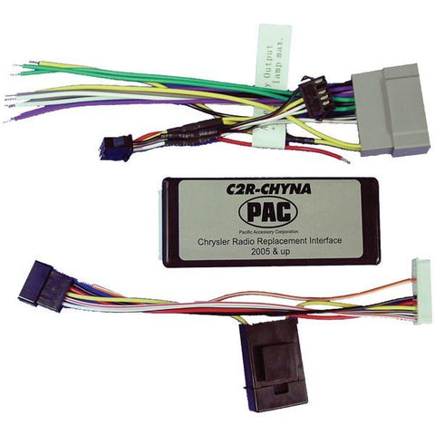 PAC Audio C2R-CHYNA Radio Replacement Interface (For Chrysler Vehicles with No Factory Amp) - Peazz.com