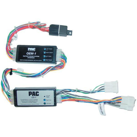 PAC Audio OS-1BOSE OnStar Interface (For Bose-equipped vehicles) - Peazz.com