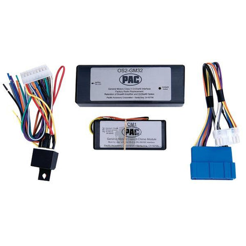 PAC Audio OS2-GM32 OnStar Interface (For 2000–2005 Cadillac Bose Vehicles) - Peazz.com