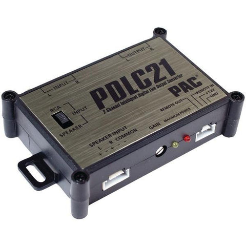PAC Audio PDLC21 2-Channel Intelligent Digital Line-Out Converter - Peazz.com
