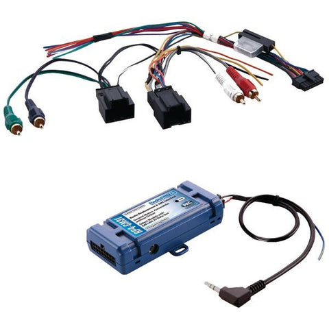 PAC Audio RP4-GM31 All-in-One Radio Replacement & Steering Wheel Control Interface (For Select GM vehicles with CANbus) - Peazz.com