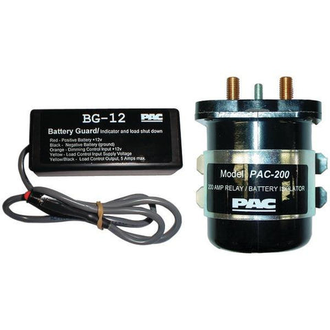 PAC Audio SPR200 Dual Battery Isolator & Monitor - Peazz.com