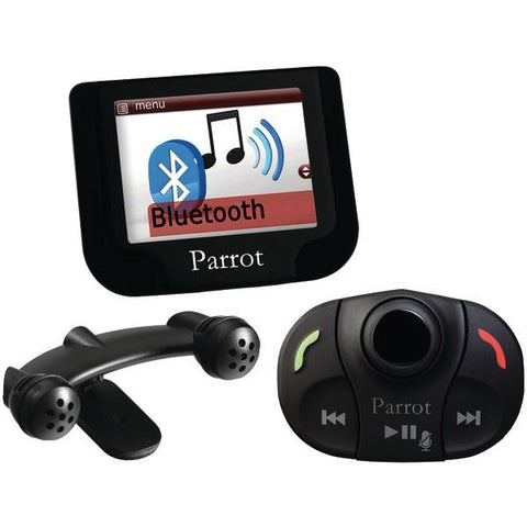 "Parrot MKI9200 Bluetooth Car Kit with Streaming Music & 2.4"" Screen - Peazz.com"