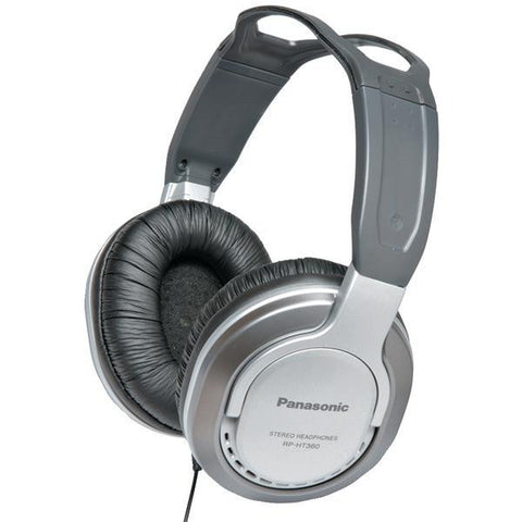 Panasonic RP-HT360 HT360 Monitor Headphones with Single-Sided Cord - Peazz.com