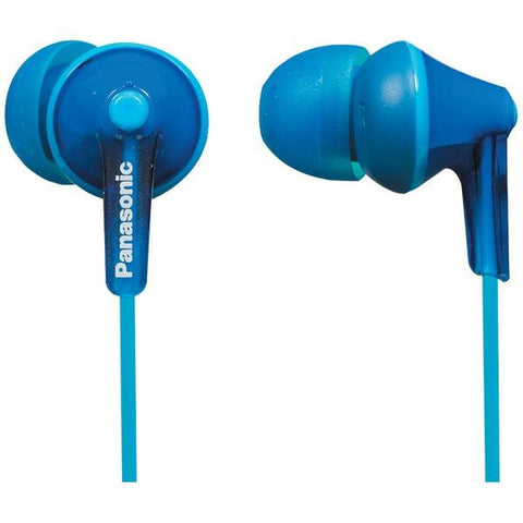 Panasonic RP-TCM125-A TCM125 Earbuds with Remote & Microphone (Blue) - Peazz.com