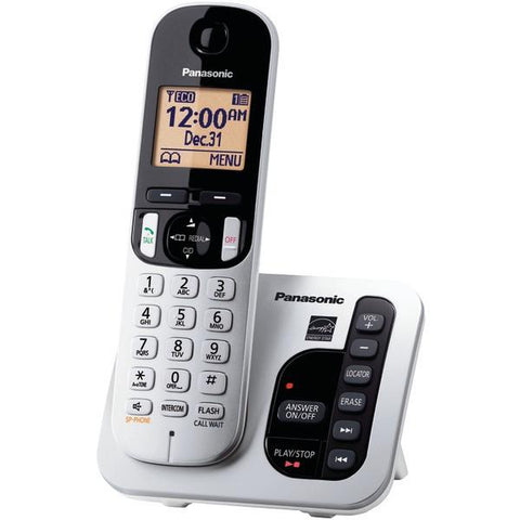 Panasonic KX-TGC220S DECT 6.0 Plus Expandable Digital Cordless Answering System (Single-Handset System) - Peazz.com