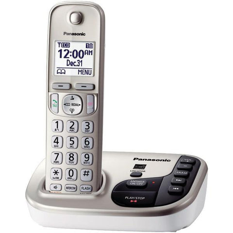 Panasonic KX-TGD220N DECT 6.0 Plus Expandable Digital Cordless Answering System (1-Handset System) - Peazz.com