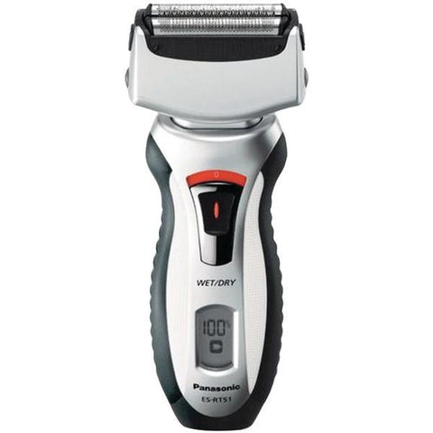 Panasonic ES-RT51S Men's Wet/Dry Rechargeable Shaver - Peazz.com