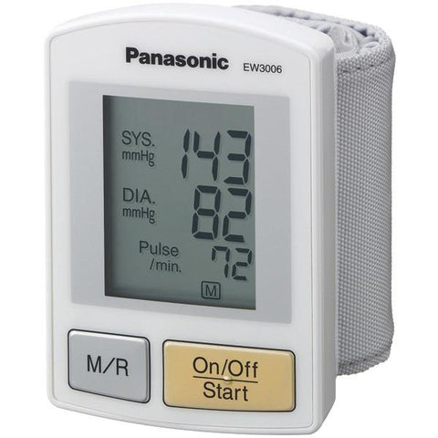 Panasonic EW3006S Wrist Blood Pressure Monitor - Peazz.com