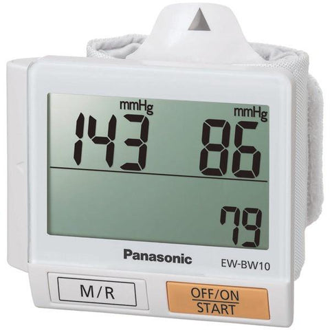 Panasonic EW-BW10W Wrist Blood Pressure Monitor - Peazz.com