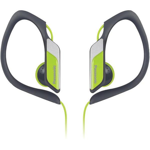 Panasonic RP-HS34-Y Sweat-Resistant Sports Earbuds (Neon) - Peazz.com