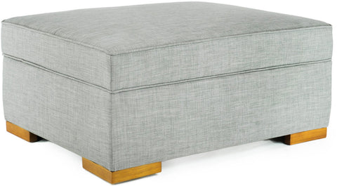 iBED PC222 iBED Convertible Ottoman Guest Bed in Gray Fabric