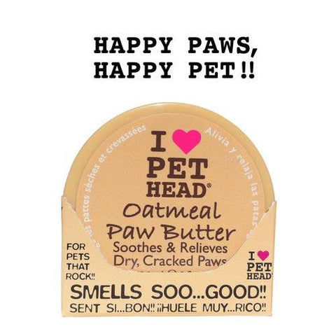 Pet Head PH11001 Oatmeal Paw Butter 2oz