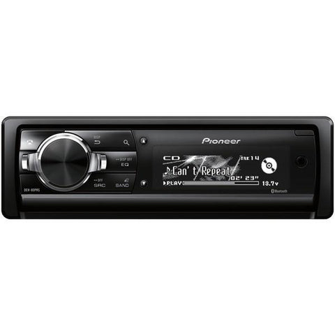 Pioneer DEH-80PRS Single-DIN In-Dash CD Receiver with Bluetooth - Peazz.com
