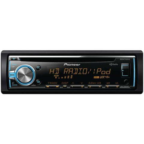 Pioneer DEH-X5800HD Single-Din In-Dash CD Receiver with MIXTRAX, HD Radio, USB, Pandora Internet Radio Ready, Android Music Support with AOA 2.0 & Color Customization - Peazz.com