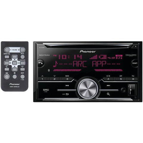 Pioneer FH-X730BS Double-DIN In-Dash CD Receiver with Bluetooth & SiriusXM Ready - Peazz.com