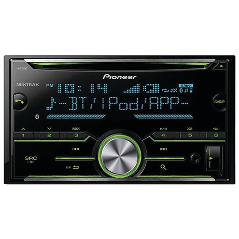 Pioneer FH-X731BT Double-DIN In-Dash CD Receiver with MIXTRAX & Bluetooth - Peazz.com