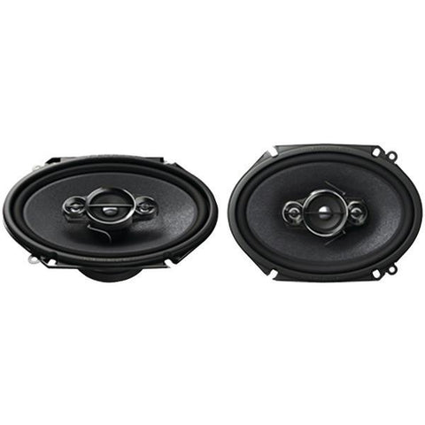 "Pioneer TS-A6886R A-Series 6"" x 8"" 350-Watt 4-Way Speakers - Peazz.com"