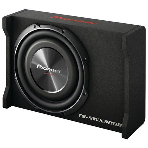"Pioneer TS-SWX3002 12"" Preloaded Subwoofer Enclosure Loaded with TS-SW3002S4 - Peazz.com"