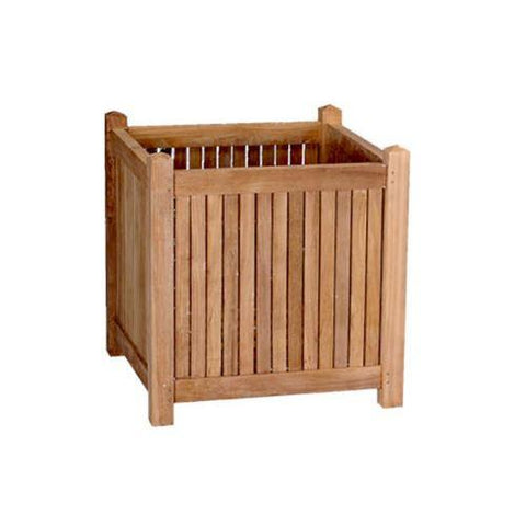 "Anderson Teak PL-001 18"" Planter Box - Peazz.com"