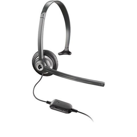 Plantronics M214C Cordless Phone Headset (1-touch volume & mute controls; Noise canceling microphone ) - Peazz.com