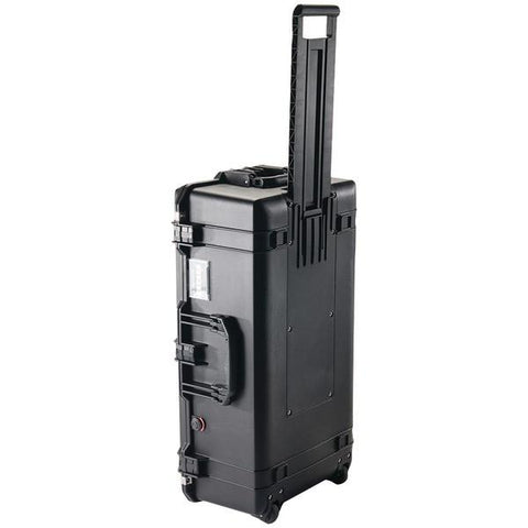 "Pelican 016150-0010-110 Air Wheeled Case (Model 1615; Internal dim: 29.59""H x 15.5""W x 9.38""D; External dim: 32.58""H x 18.4""W x 11.02""D) - Peazz.com"