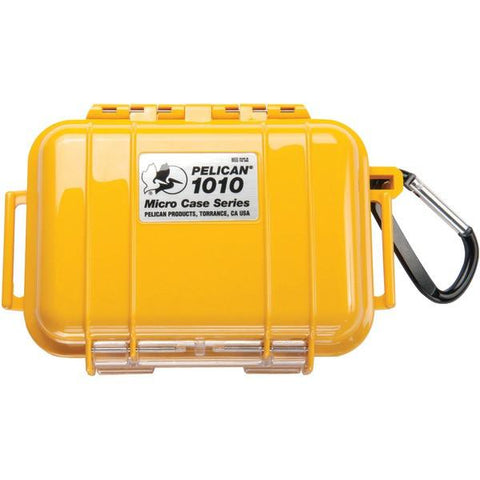 Pelican 1010025240 1010 Micro Case (Yellow) - Peazz.com