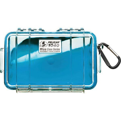 Pelican 1040-026-100 1040 Micro Case (Blue/Clear) - Peazz.com