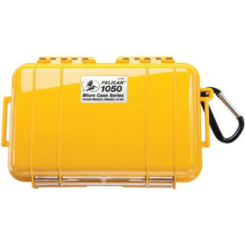 Pelican 1050025240 1050 Micro Case (Yellow/Solid) - Peazz.com