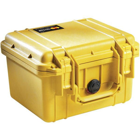 Pelican 1300-000-240 1300 Protector Case with Pick N Pluck Foam (Yellow) - Peazz.com