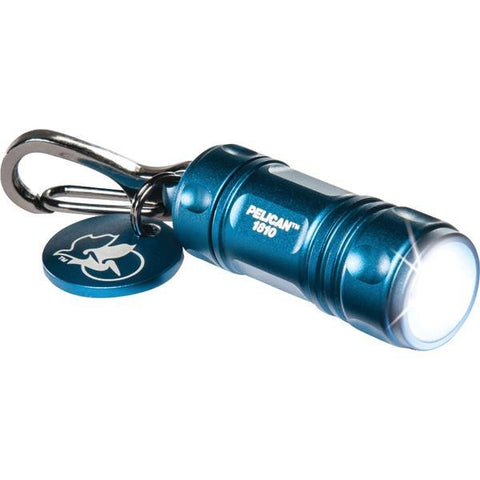 Pelican 018100-0100-120 16-Lumen ProGear 1810 LED Keychain Flashlight (Blue) - Peazz.com