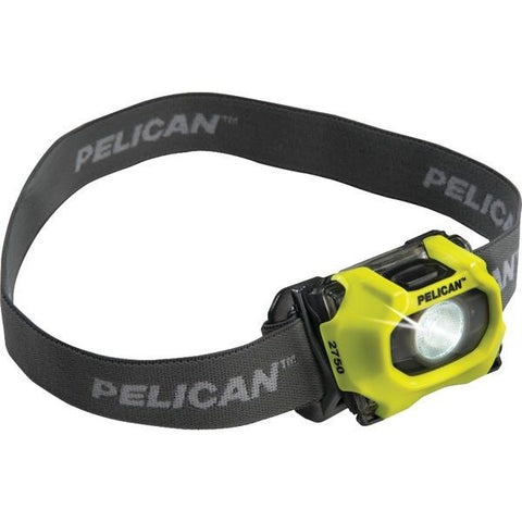 Pelican 027500-0101-247 193-Lumen 2750 LED Adjustable Headlamp (Yellow) - Peazz.com