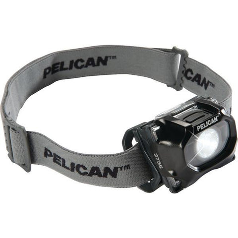 Pelican 027550-0100-110 72-Lumen 2755 Safety-Approved 3-Mode LED Headlight (Black) - Peazz.com