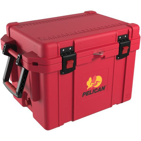 Pelican 32-45Q-CC-RED 45-Quart ProGear Elite Cooler (Red) - Peazz.com